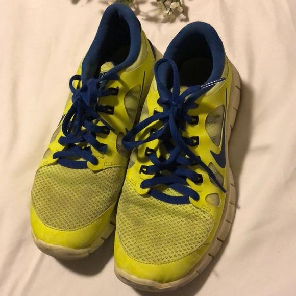 Nike Shoes   Kids 65 Yellow Nikes